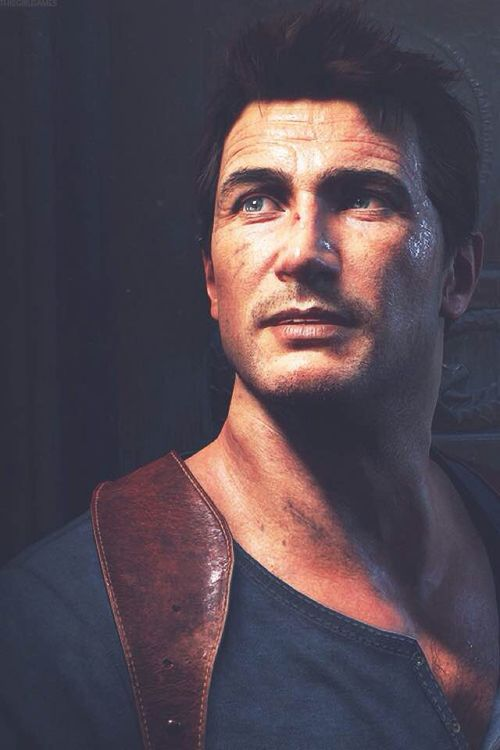 Nathan Drake - Uncharted 4: A Thief's End (More like this thief will be MY end if dies in this next game. STOP BEING SO ATTRACTIVE.)