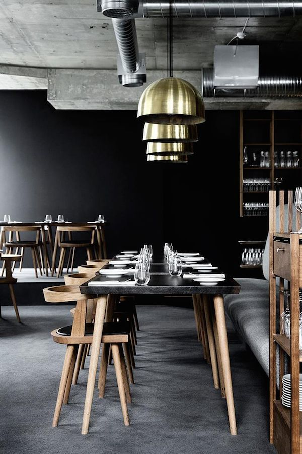 TRAVEL Lysverket restaurant X Københavns Møbelsnedkeri