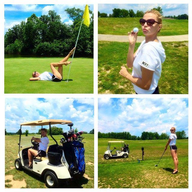 Marina Orlova - #marinaorlova #lifeisbeautiful #america #golf #iplaygolf #actress #funday