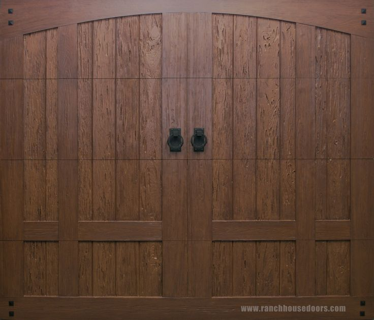 86 best images about faux wood garage doors on pinterest for Fake wood garage doors