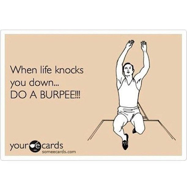 Exactly what my coach says!!!! Haha
