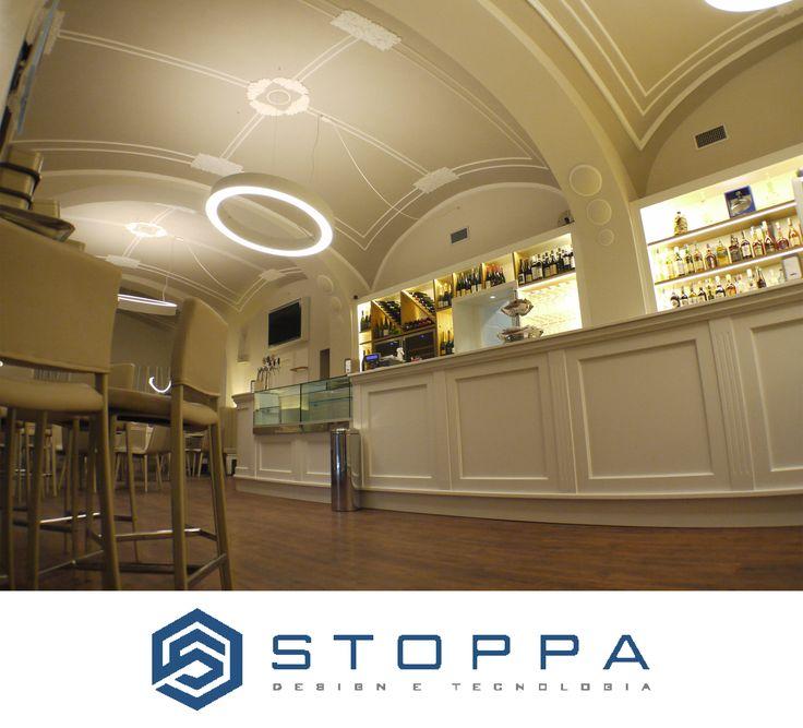 Caffè della Vittoria in Bra by Stoppa Design e Tecnologia.