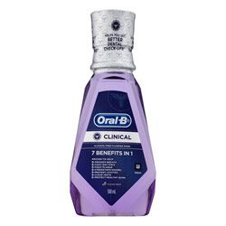 Buy Oral-B Clinical 7 Benefits in 1 Rinse 500 ml Online | Priceline