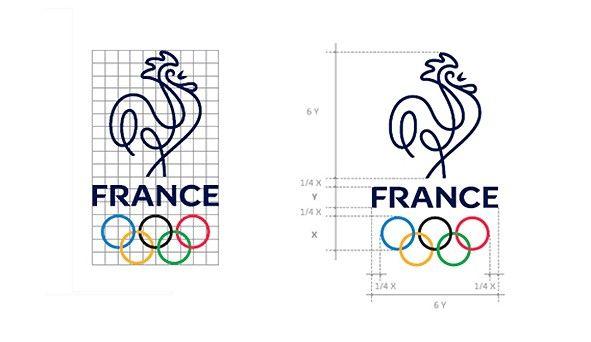 La ligne bleue du coq... génèse d'une création - L'équipe de France Olympique