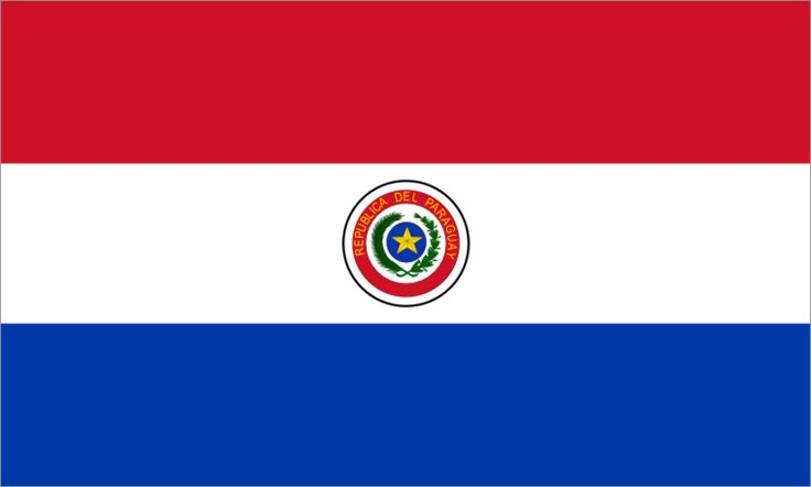 The flag of Paraguay (Spanish: bandera de Paraguay) was adopted in 1842. It is unusual because it differs on obverse and reverse sides. The only other national flags that share this feature are those of Moldova and Saudi Arabia however, both have a mirror image on the reverse, while Paraguay has a completely different image.