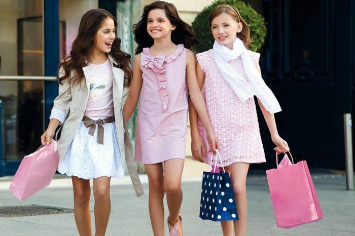 ropa para niñas mayoral primavera verano 2013