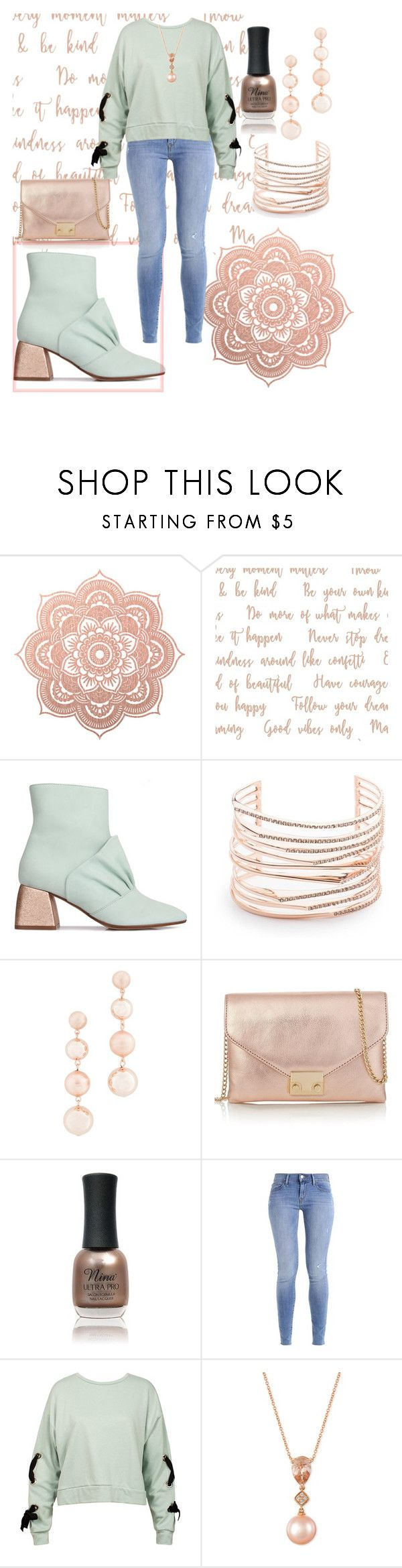"""""""ankle booties ❤"""" by cecilvenekamp ❤ liked on Polyvore featuring Beau Coops, Alexis Bittar, Rebecca Minkoff, Loeffler Randall, Charlotte Russe, Sans Souci and LE VIAN"""