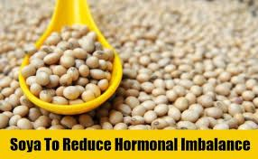 use soya beans for clear skin.