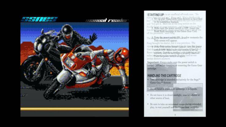 Road Rash - SSNES manual reader