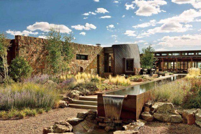 Les 25 meilleures id es concernant jardin mexicain sur for Idee amenagement jardin rectangulaire