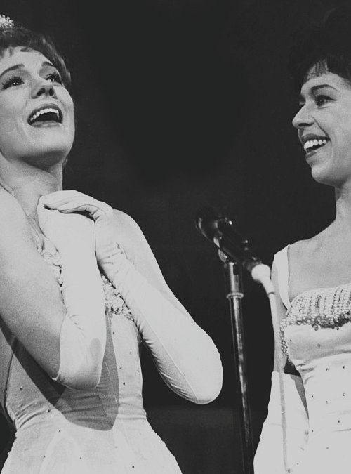 Julie Andrews & Carol Burnett