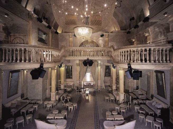 Gattopardo Café, an elegant disco-bar and events location housed in a deconsecrated church. http://www.wheremilan.com/site/?p=4047