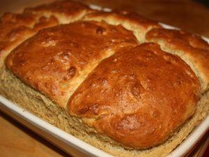 Brioche très saine du petit déjeuner (merci Marie Chioca!!)