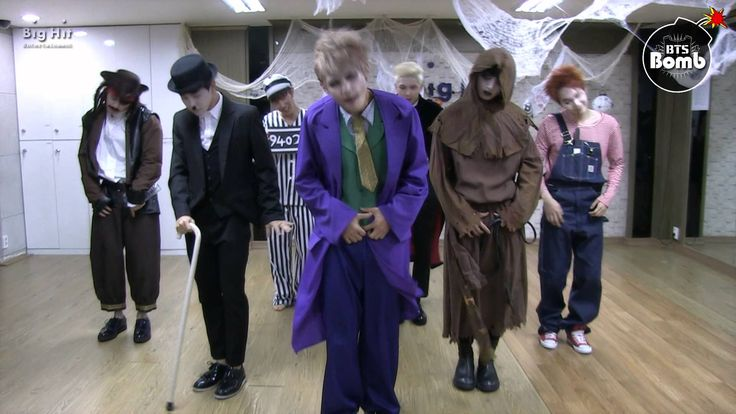 [BANGTAN BOMB] War of hormone  in Halloween. So much more amazing than the original music video!!!!