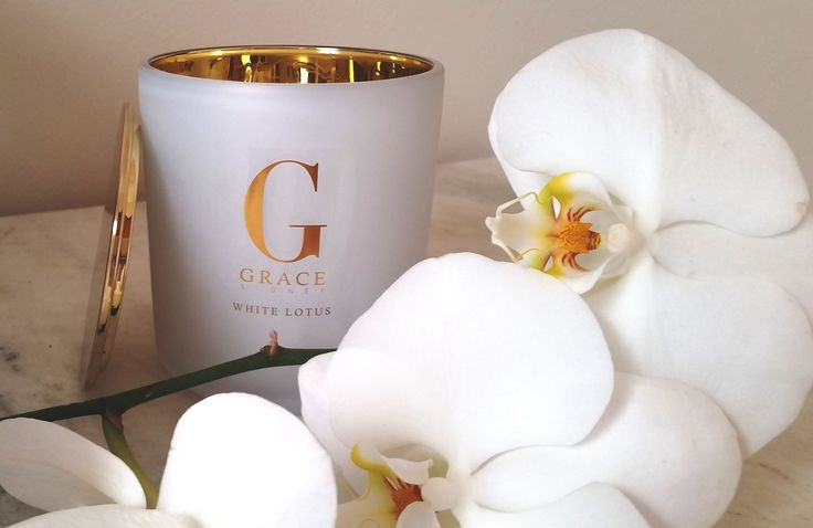 New to our collection a high end boutique style frosted white vessel with gold interior finished with a gold lid.