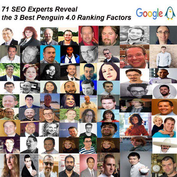 71 SEO Experts Reveal the 3 Best Penguin 4.0 Ranking Factors