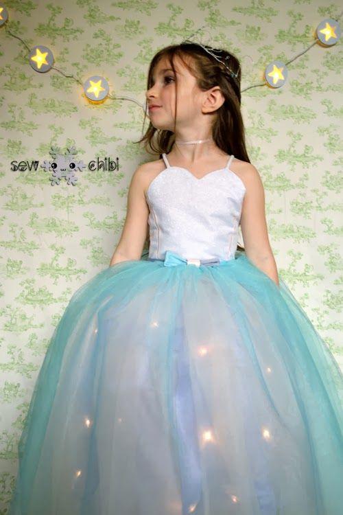 Make this amazing Light up Princess Dress - Seasonal Sewing Series
