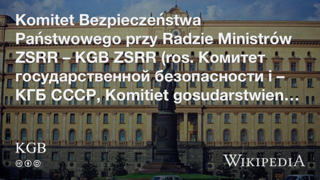 """KGB"" på @Wikipedia:"