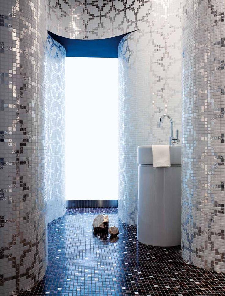 17 migliori idee su bagno con mosaico su pinterest bagno marocchino docce e bagno - Progetto bagno 2x2 ...