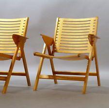 from ebay 1(V.2)レックスKralj、Klappsessel、デザインニコKralj、ヴィンテージ折りたたみ椅子Stuhl