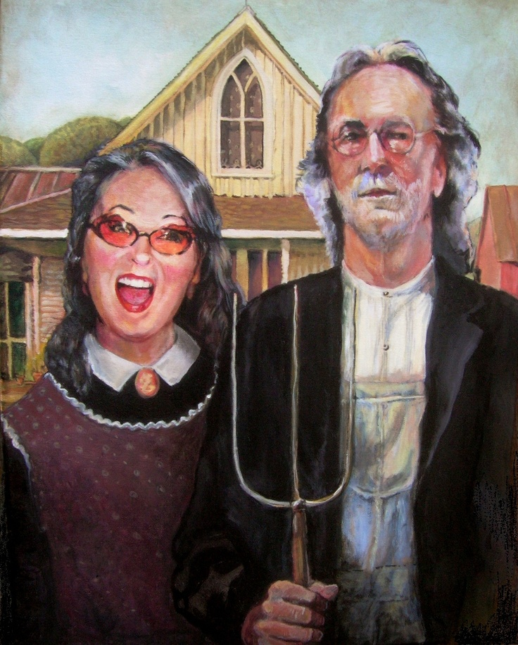 american gothic painting essay