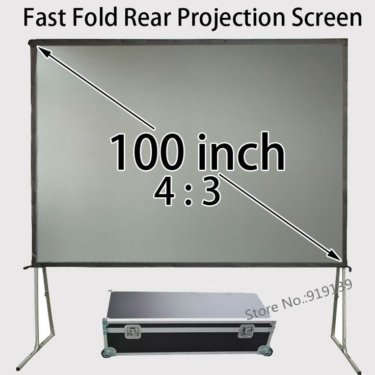 421.38$  Watch here - http://alibtm.worldwells.pw/go.php?t=32693790151 - 80x60inch Viewable Size 4:3 Rear Projection Screen Fast Folding Frame With Travel Case For Business 421.38$