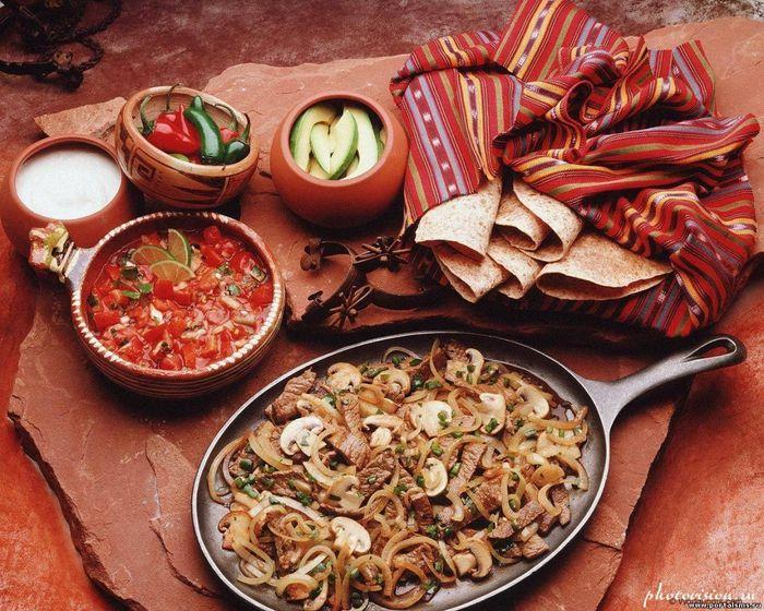 Мексиканские блюда со свининой