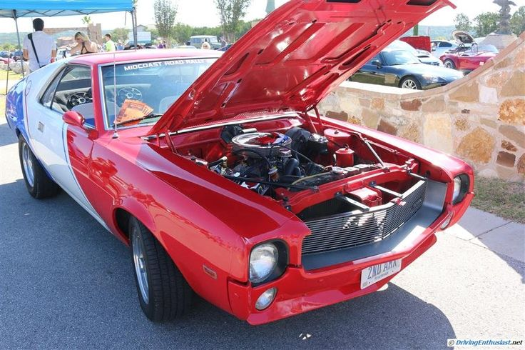 AMC Javelin. As seen at the July 2014 Cars and Coffee show in Austin TX USA.