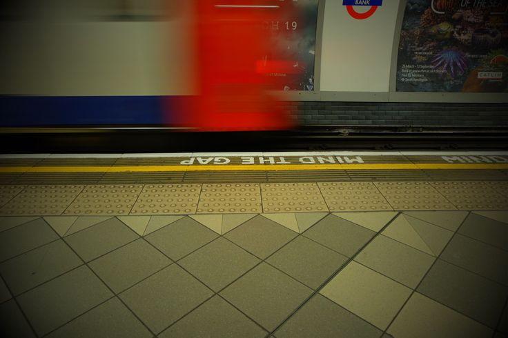 Mind the gap. #london #londonunderground #photography #mindthegap