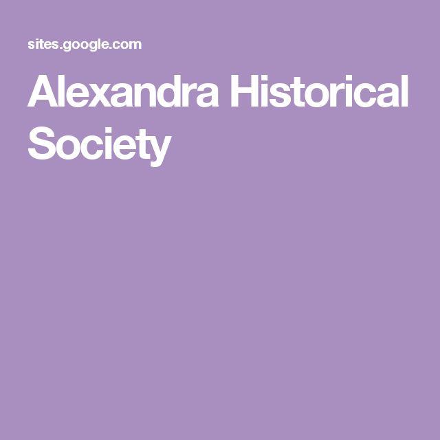 Alexandra Historical Society