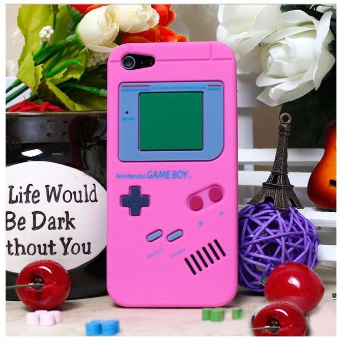 Stylish Retro Game Boy Special Design Soft Silicon Back Case for iPhone 5 - http://www.gogoonlineshop.com
