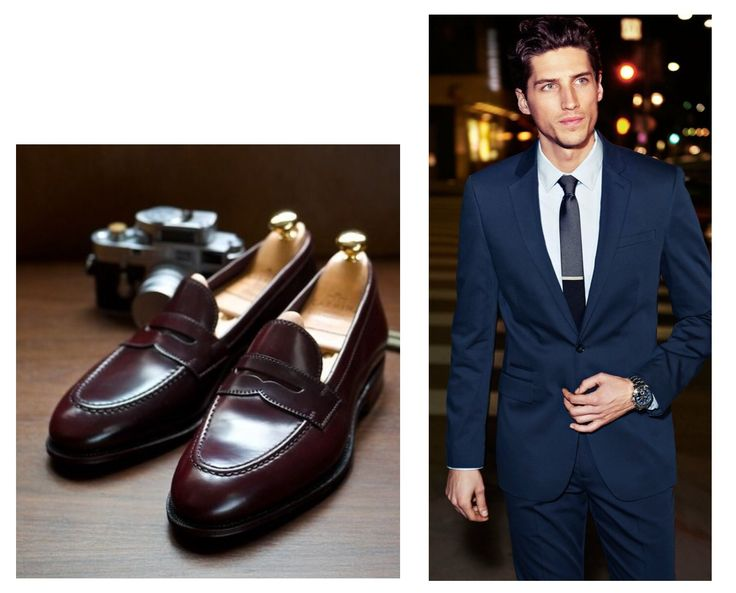 black suit brown shoes - Google-Suche