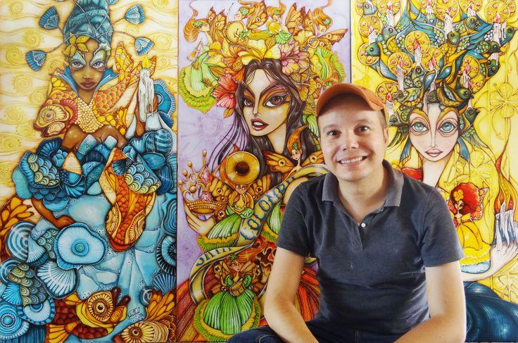 #ARTE,CINEYTEATRO, #SINCELEJO ¡Uy! que interesante:  Julio Verbel - Artista SincelejanoMíralo Aquí --> http://www.sabanaurbana.com/julio-verbel-artista-sincelejano/  #SabanaUrbana.