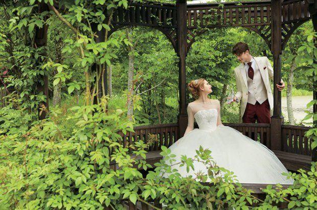 Cinderella Dress - Wedding - Vestido Casamento - Disney - Once Upon a Time - Gata Borralheira - Cinderela - Fairy Tales - Photos by Disney Japan/Kuraudia Co