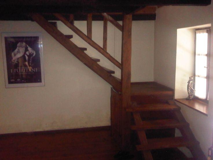 indoor stairs ti upper floor