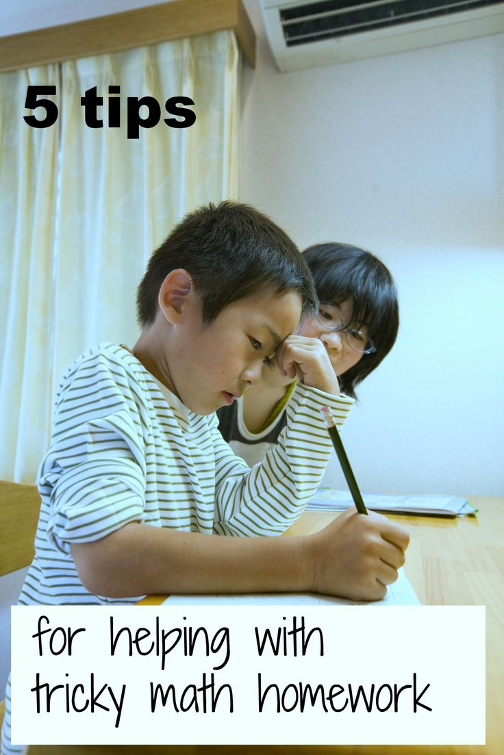 26 best ideas about homework tips writing how to help kids tricky math homework