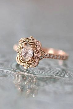 Oval Engagement Rings As A Way To Get More Sparkle ❤️ See more: http://www.weddingforward.com/oval-engagement-rings/ #wedding #engagement #rings