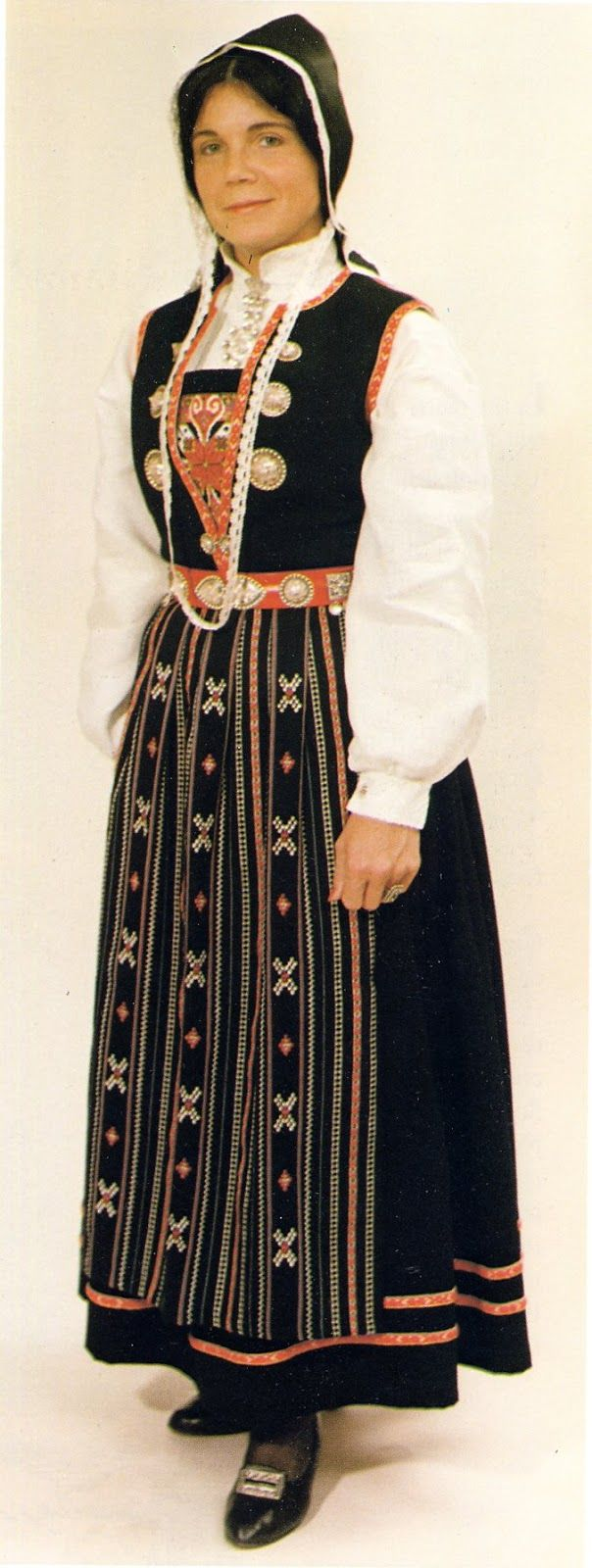Hello all, Today I will cover the last province of Norway, Hordaland. This is one of the great centers of Norwegian folk costume, hav... Masfjorden