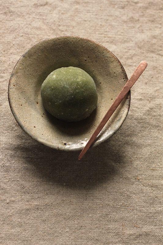 Wagashi + Copper Pick