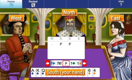 Play Bridge Online Free (ACOL Lesson 2a)