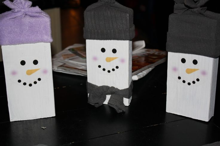 Christmas Wooden Crafts To Paint