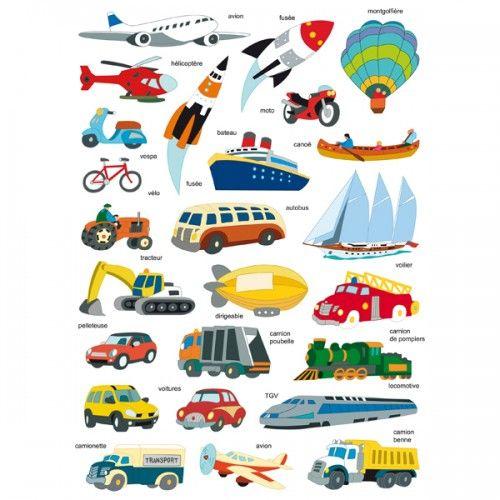 1000 ideas about moyen de transport on pinterest for Apprendre les objets de la maison