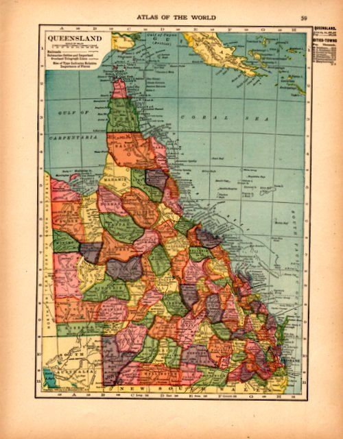The Best Detailed Map Of Australia Ideas On Pinterest Map Of - Detailed map of queensland australia