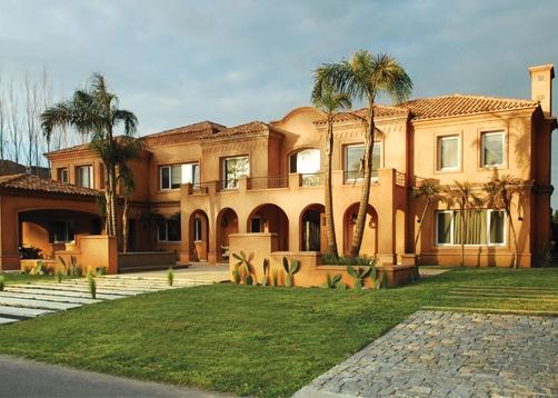 Oppel arquitectura casa estilo clasica - Bodegas en sotanos de casas ...