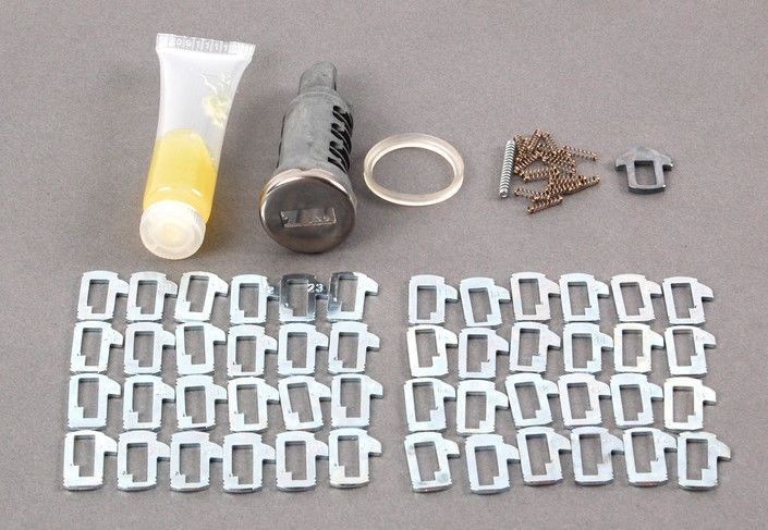 New Oem Bmw E32 E34 Front Door Lock Cylinder Left Repair Kit 51218105491 Front Door Locks Cylinder Lock Door Locks