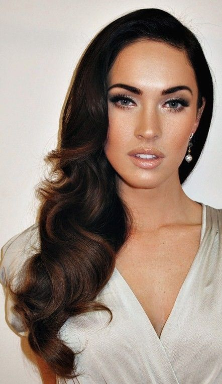 Can't tell if this is really Megan Fox--great shot nonetheless. http://coffeespoonslytherin.tumblr.com/post/157380594277/hairstyle-ideas-little-girl-hairstyles-so