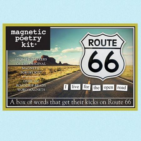 Kjøleskapsmagneter Route 66 fra Ruth66. Om denne nettbutikken: http://nettbutikknytt.no/ruth66-no/