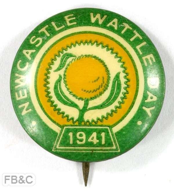 1941 Newcastle Wattle Day