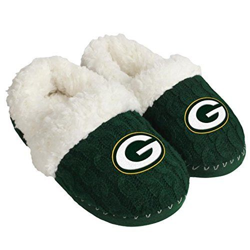 Green Bay Packers Team Color Moccasin Large