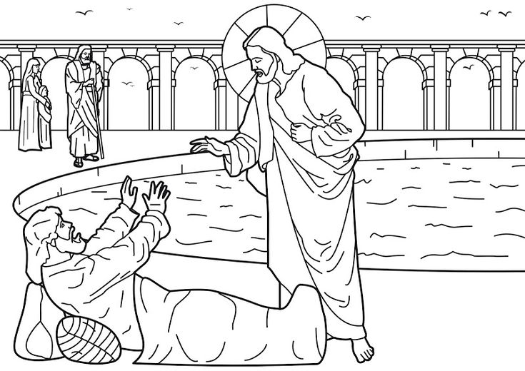 10 best Jesus Heals Lame Man at Pool images on Pinterest
